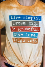 509 Broadway Live Simply Dream Big Tee