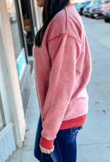 509 Broadway Clark & Rusty Inverted Sweatshirt