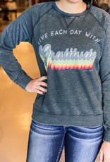 509 Broadway Live Each Day With Gratitude Tee