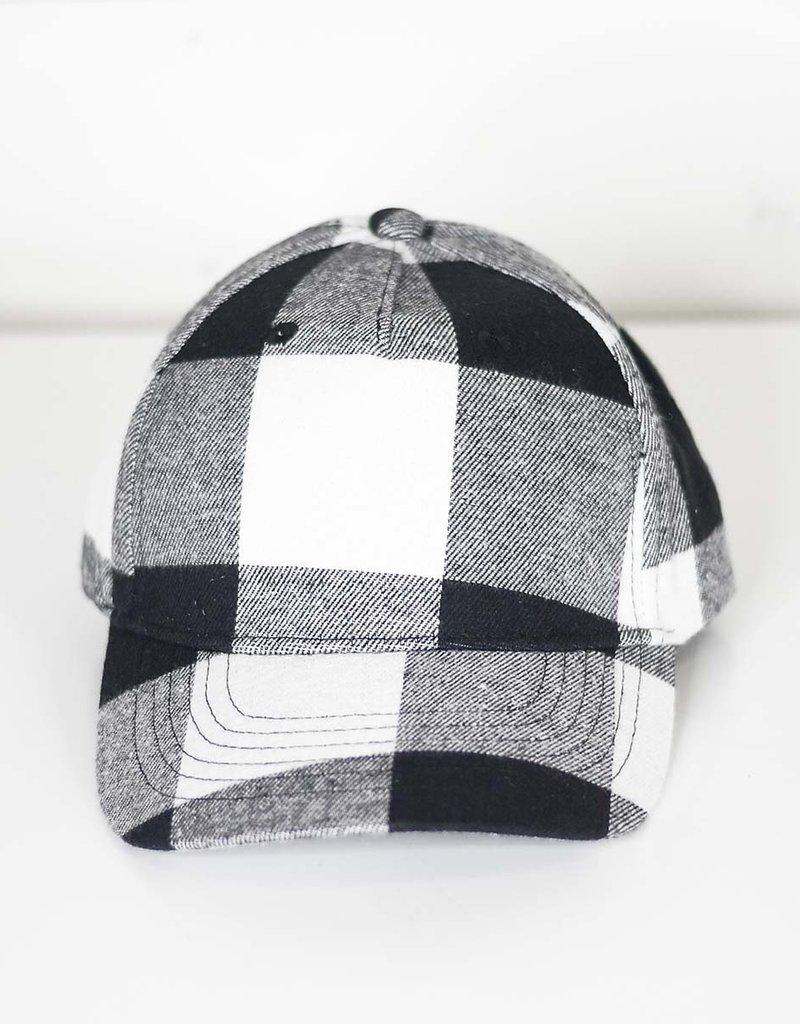 509 Broadway Plaid Hat