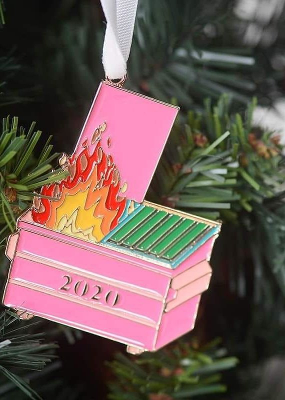 509 Broadway Dumpster Fire Ornament