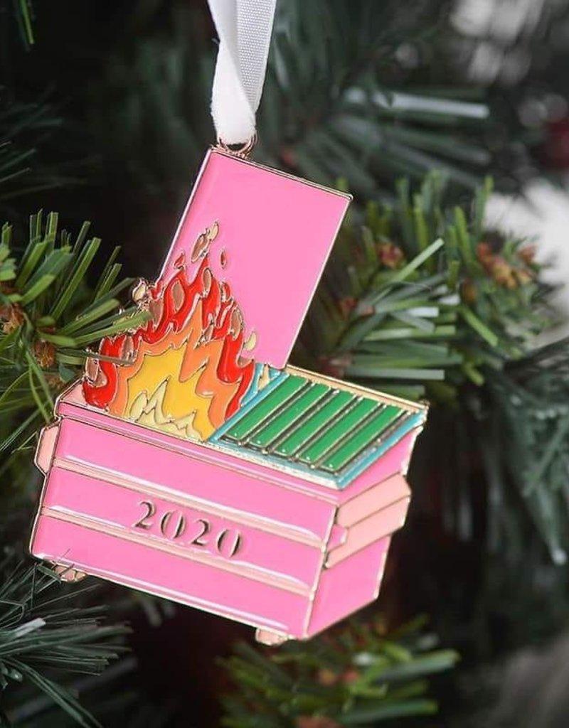 509 Broadway Dumpster Fire Ornament