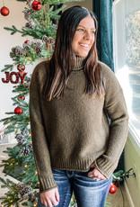 509 Broadway Hailee Turtle Neck Knit Sweater