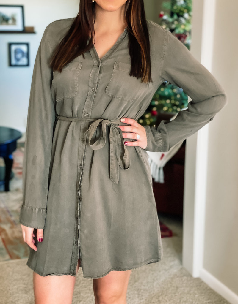509 Broadway Tencel T-Shirt Dress