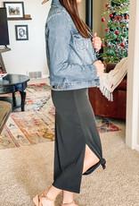509 Broadway Modal Rib Sleeveless Knit Dress