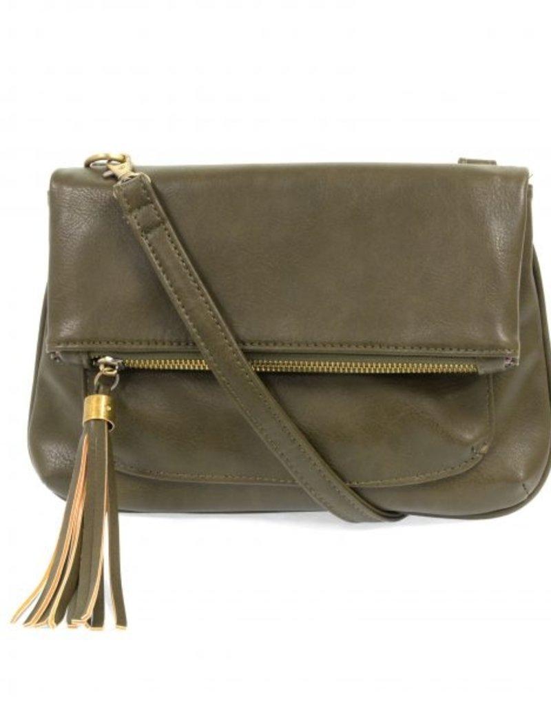 509 Broadway Alice Crossbody W/ Tassel Handbag