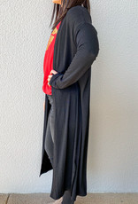 509 Broadway Long Sleeve Light Knit Cardigan