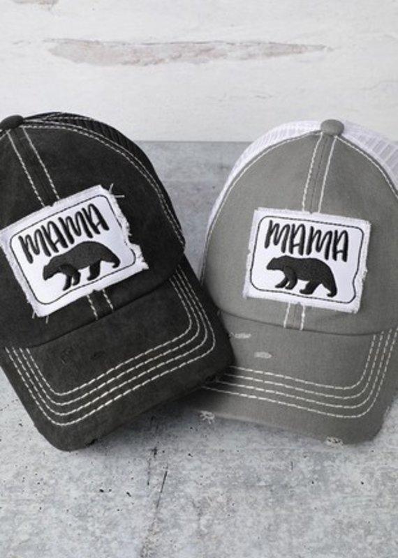 509 Broadway Distressed Mama Bear Hat