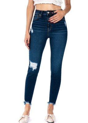 509 Broadway |Jenna| High Rise Ankle Skinny