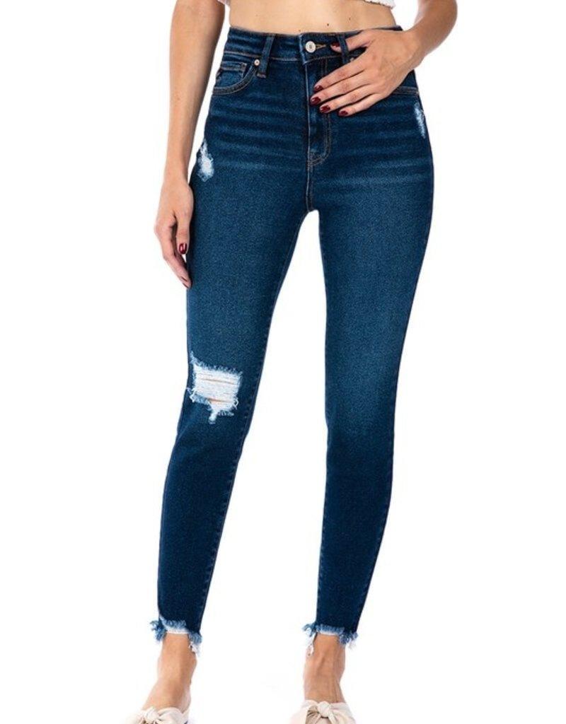 509 Broadway |Jenna| High Rise Ankle Skinny