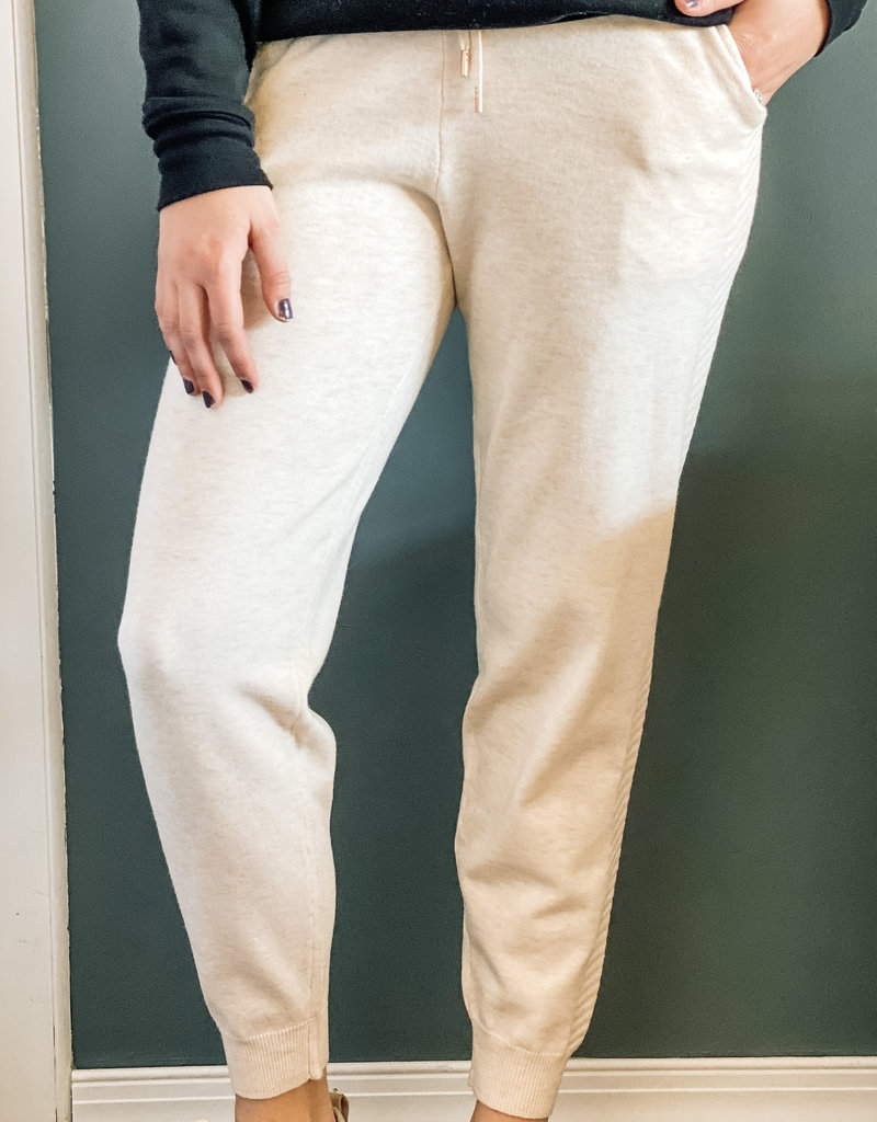 509 Broadway Soft Touch Sweater Joggers