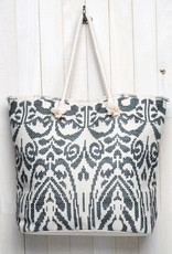 509 Broadway Abstract Printed Tote Bag