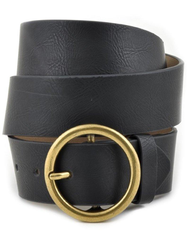 509 Broadway Leatherette Jean Belt