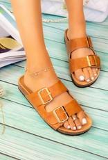 509 Broadway Double Strap Sandal