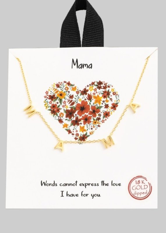 509 Broadway Mama Pendant Necklace