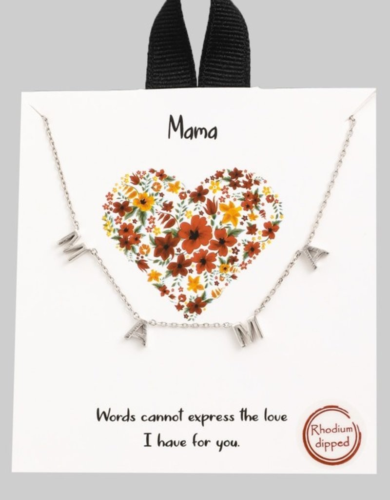 509 Broadway Mama Pendant Necklace