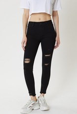 509 Broadway |Whitney| Mid Rise Distressed Skinny