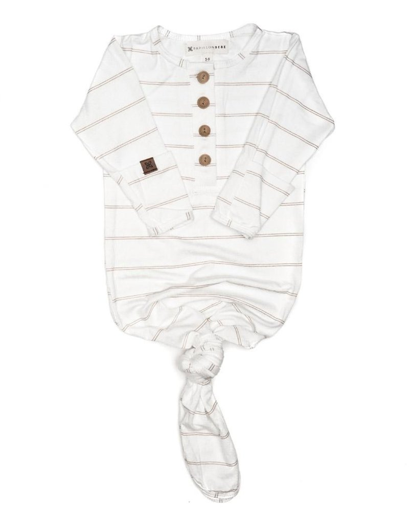 509 Broadway Baby Knotted Gown