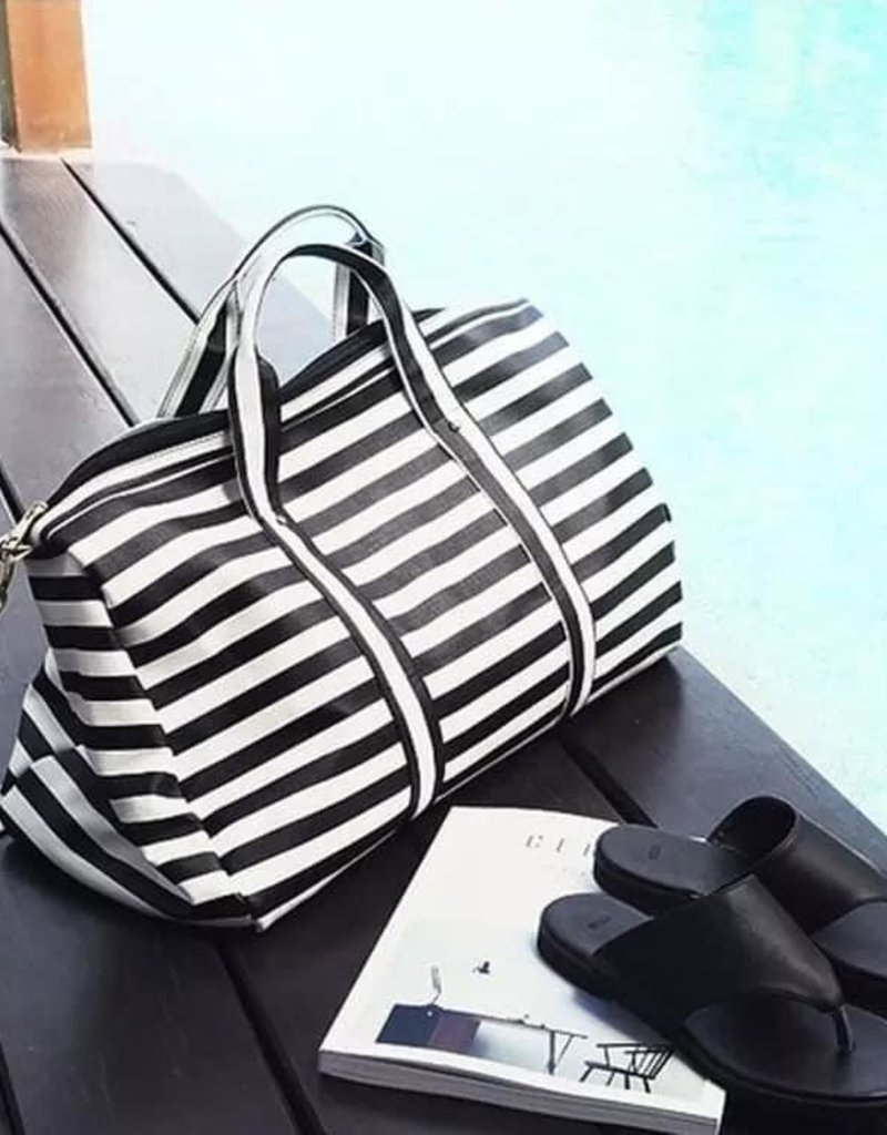 509 Broadway The Lexi Striped Weekender