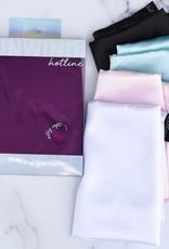 Hotline Hair Ties Satin Pillowcase