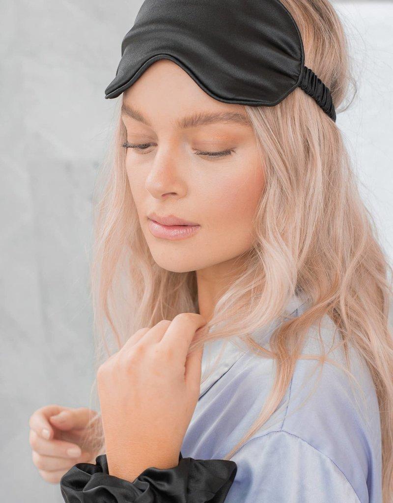 Hotline Hair Ties Sleep Mask & Travel Bag Set