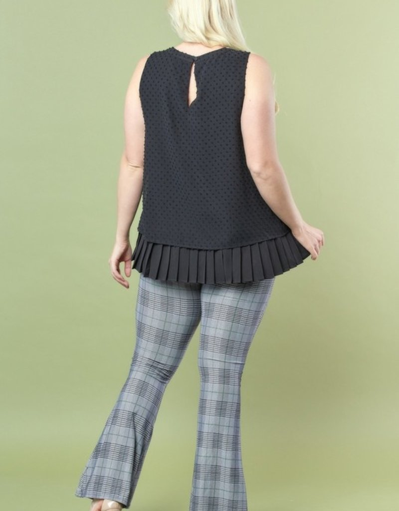 509 Broadway Pleated Bottom Top