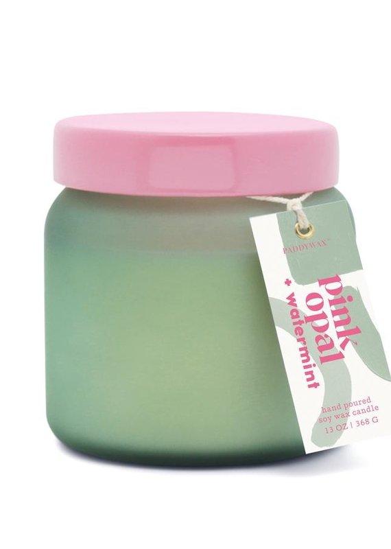 Paddywax Lolli-Pink Opal + Watermint 13oz