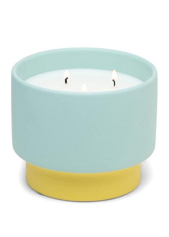 Paddywax Color Block-Minty Verde Ceramic 16oz