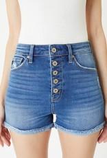 KanCan Sydney High Rise Cuffed Shorts