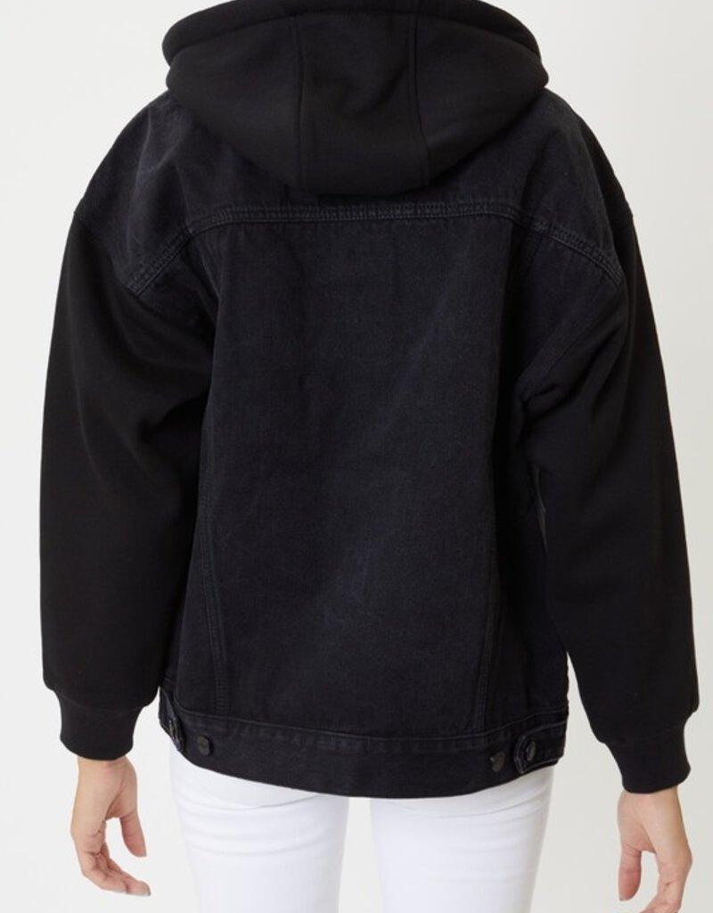 KanCan Boyfriend Hoodie Jacket