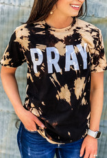509 Broadway Pray Bleached Tee