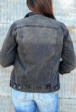 509 Broadway Classic Long Sleeve Denim Jacket
