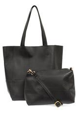 509 Broadway Avery Python Tote Handbag