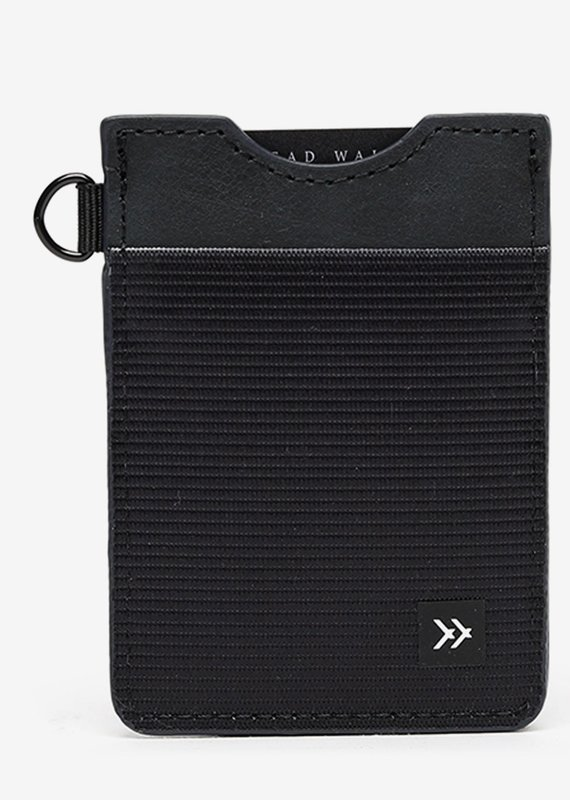 Thread Wallets |Black| Vertical Card Holder