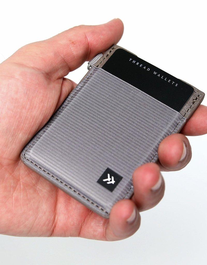 Thread Wallets  Black  Vertical Card Holder