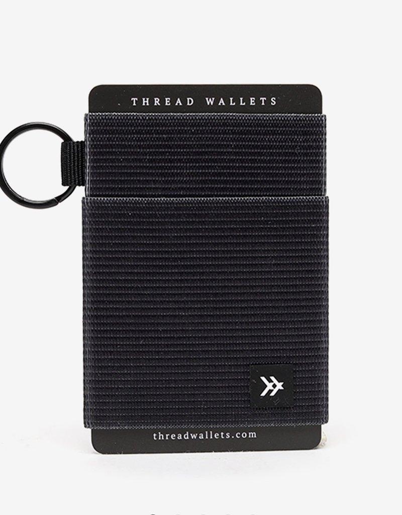 Thread Wallets  Black  Elastic Wallet
