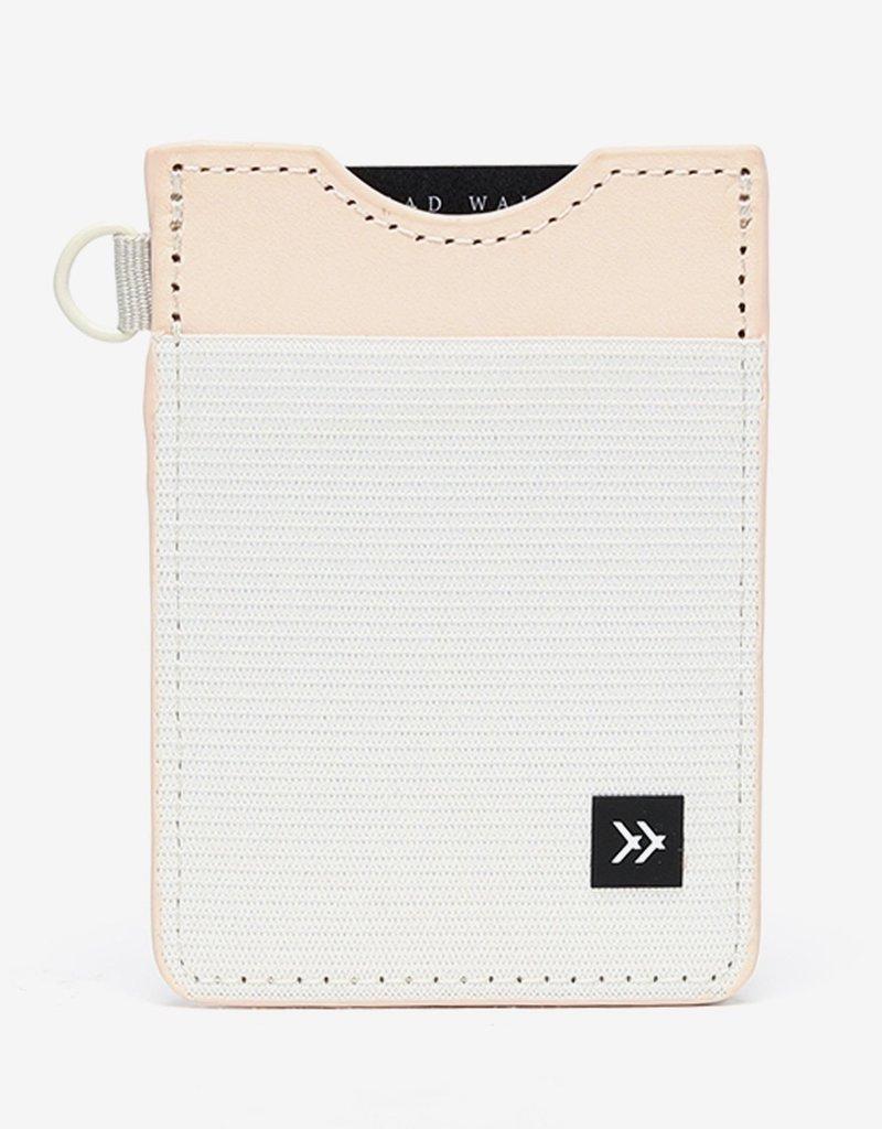 Thread Wallets  Off White  Vertical Card Holder