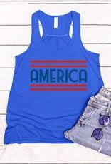 509 Broadway America Graphic Tank Top