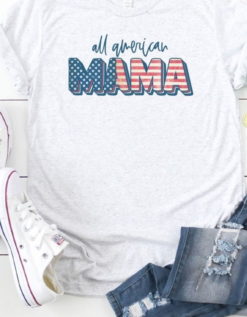 509 Broadway All American Mama Graphic Tee
