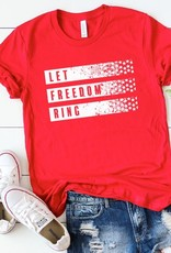 509 Broadway Let Freedom Ring Graphic Tee