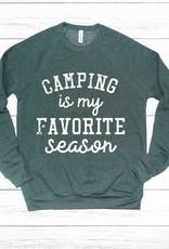 509 Broadway Camping Is My Favorite Season Sweatshirt