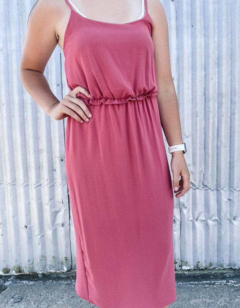 509 Broadway Solid Sleeveless Dress