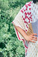 509 Broadway Filigree and Tile Print Kimono