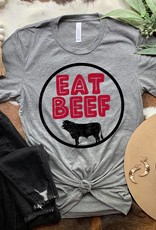 509 Broadway Eat Beef Graphic Tee