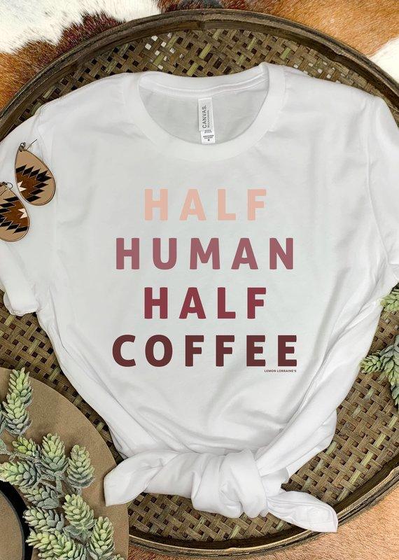 509 Broadway Half Human Half Coffee Tee