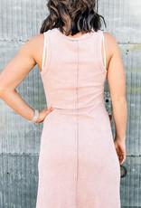 509 Broadway Dyed Rib Knit Mini Dress