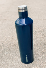 Corkcicle 25oz Classic Canteen Gloss Navy
