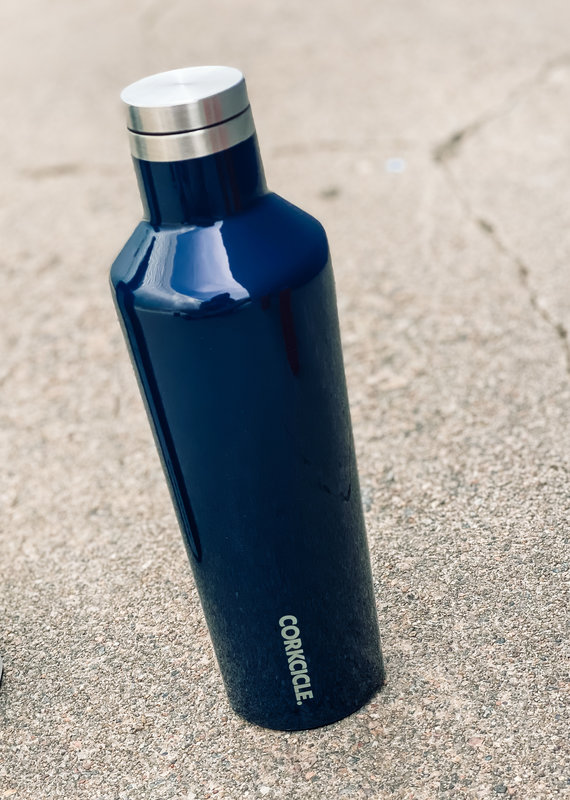 Corkcicle 16oz Classic Canteen Gloss Navy