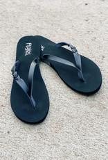 509 Broadway Serenity Braid Detail Sandal