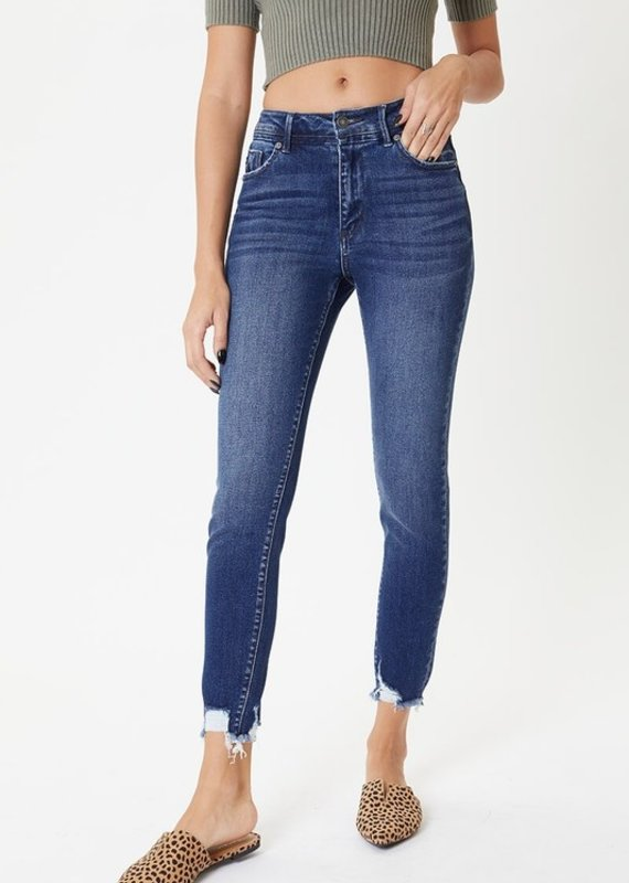 509 Broadway  Alison  High Rise Detail Ankle Skinny
